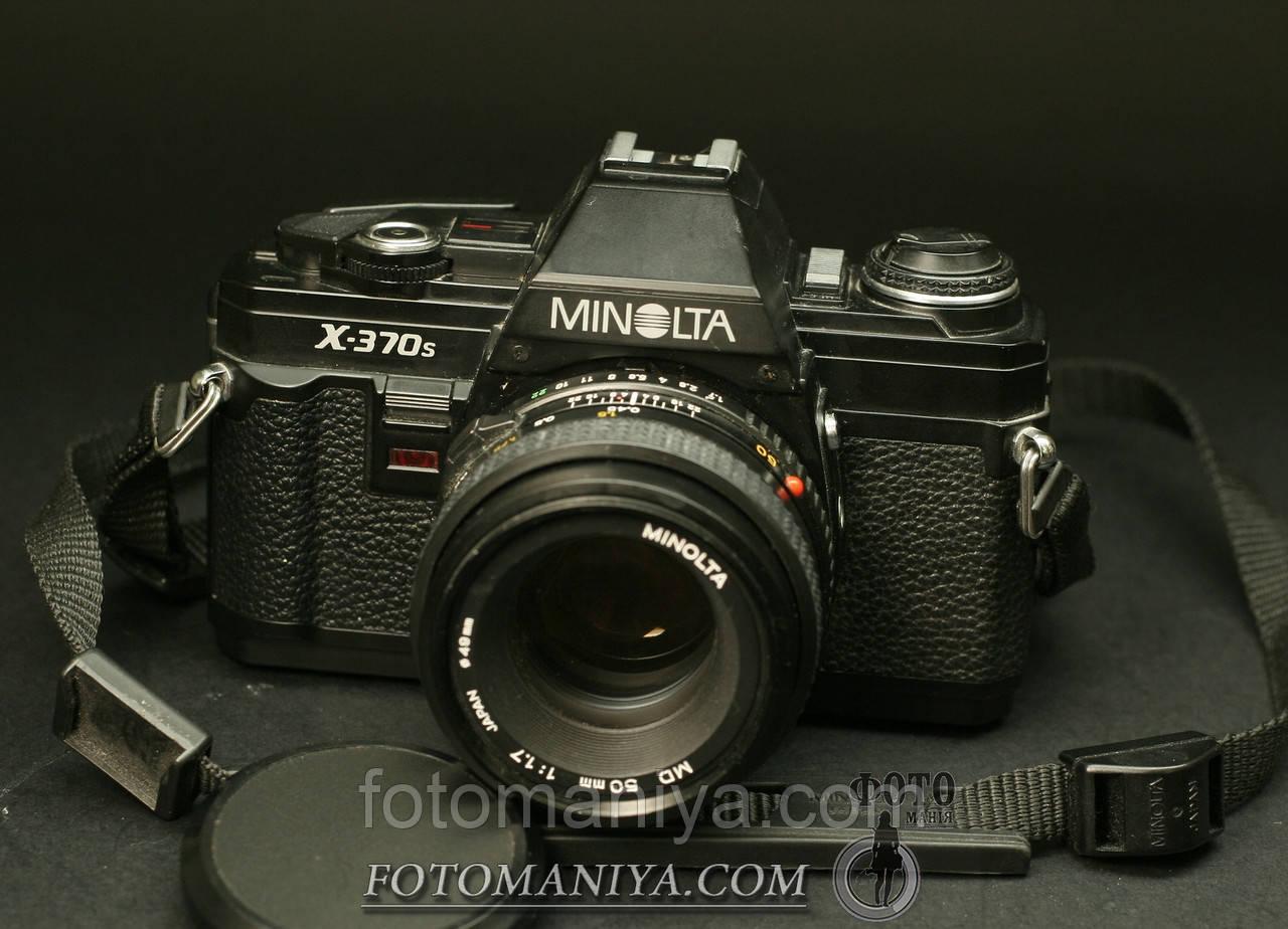 Minolta X-370s  Minolta MD  50mm f1,7
