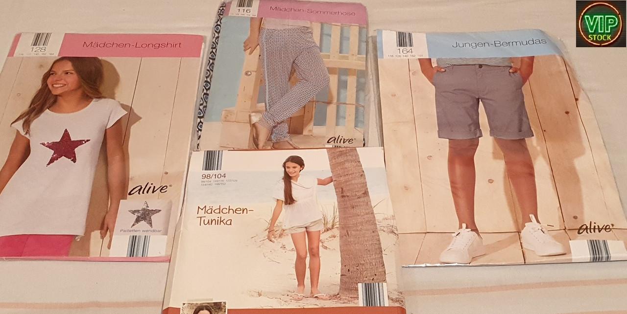 Детская одежда  Lupilu, Peperts, Impidimpi, Alive оптом  (лето)