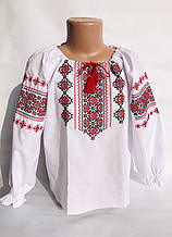 Детская вышитая блуза с орнаментом