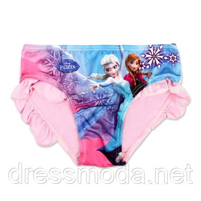 Плавки для девочек Frozen 3-8 лет
