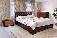 Кровать Ассоль с мягким изголовьем (венге 180х200 см)