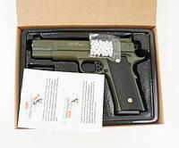 Детский пистолет на пульках G.20G, страйкбольный