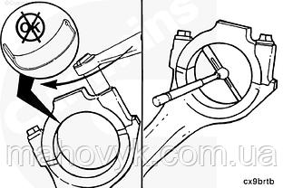 Шатун Cummins B3.9, B4.5, B4.5 RGT і B5.9. Розміри і моменти затягування.