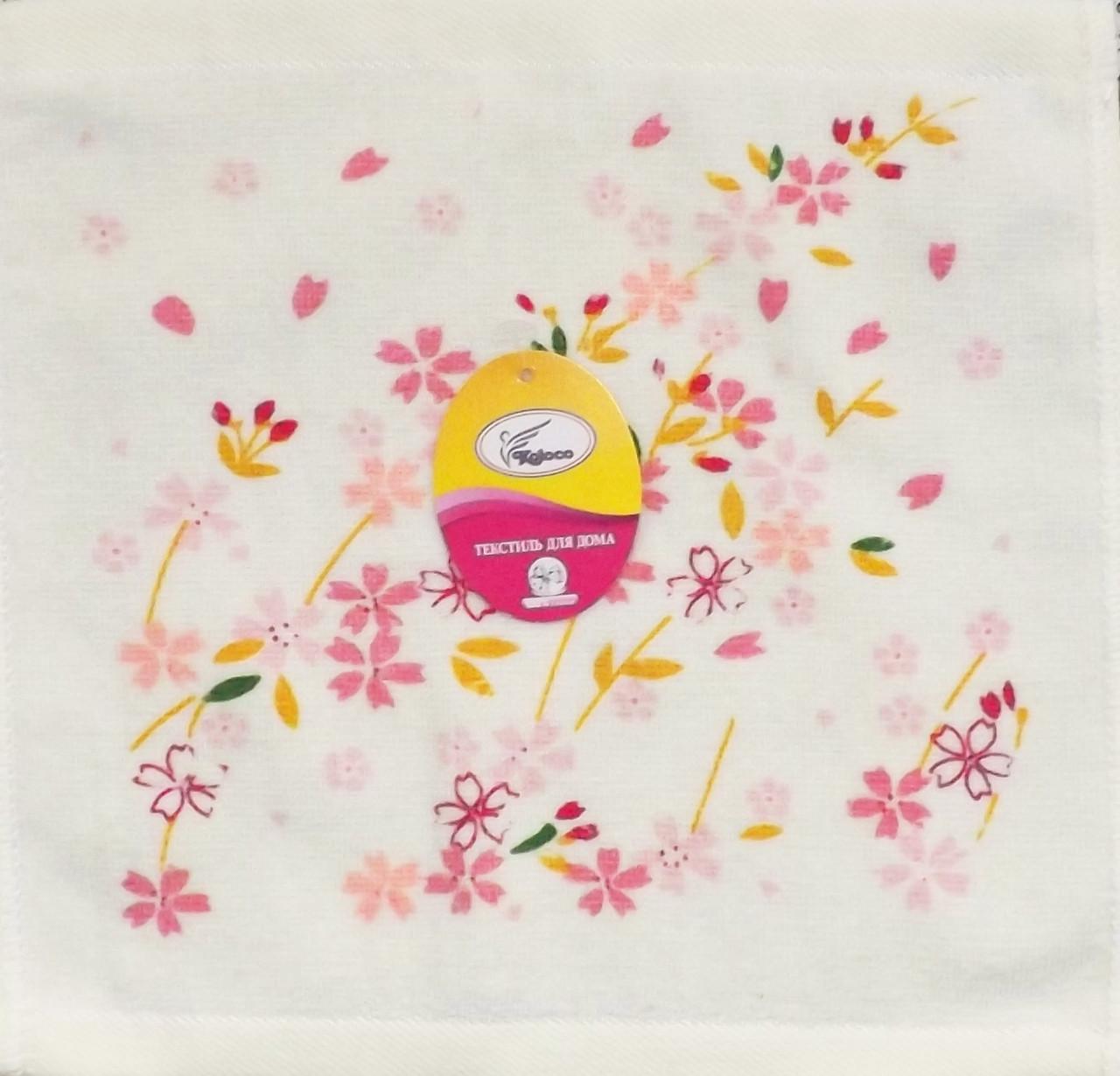 Детская махровая салфетка для рук 22х23 см
