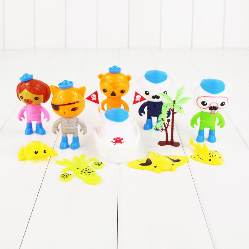 Набор игрушек Октонавты ( OCTONAUTS ) ,11 шт