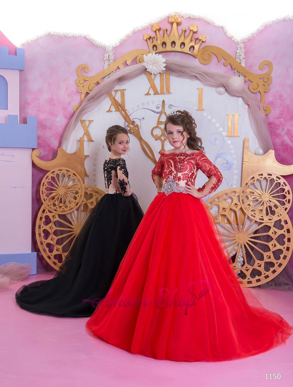 Детское нарядное выпускное платье на девочку 4,5,6,7,8,9,10,11лет (в садик, 4 класс),  1150
