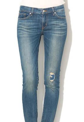 Джинсы женские Levi's 711 Skinny / W24xL32/Mid Rise/Slim trough/Hip and thigh/Оригинал, фото 2