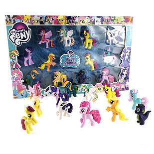 Набор игрушки Май Литл Пони  в коробке( my Little Pony ),12 шт