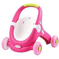 Ходунки детские коляска для куклы Minikiss Smoby 210201