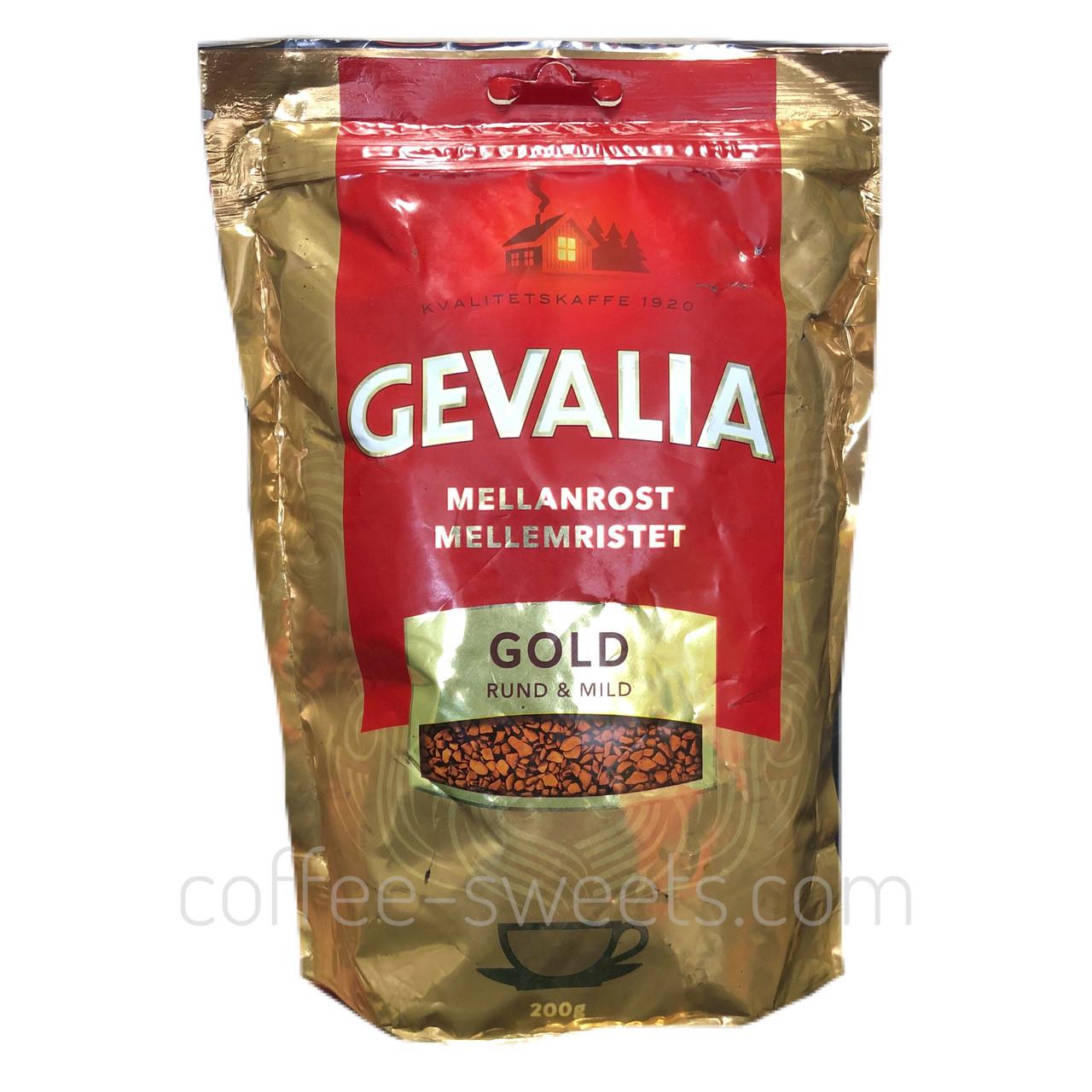 Кофе растворимый Gevalia Gold Mellanrost м/у 200 гр