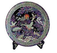 Декоративная тарелка «Птицы счастья»