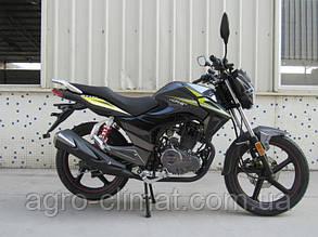 Мотоцикл HORNET GT-150 (150куб.см), мокрий асфальт