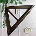 Подвесной светильник из первосортного дерева, треугольная форма, современный стиль, натуральное дерево, loft, фото 8