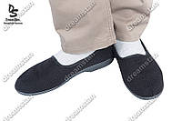 Мужские тапочки черные ( Код : ТК-02)
