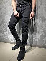 Джинсы STRAVT черного цвета топ-реплика, фото 2