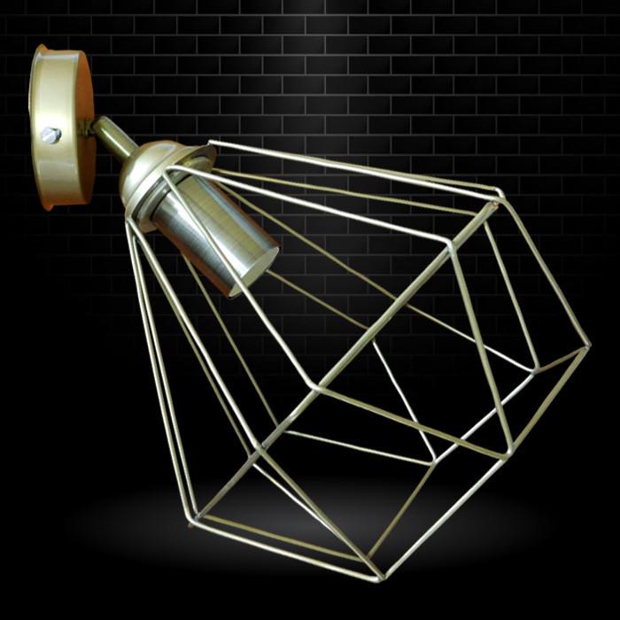 """Настенный светильник, спот поворотный, потолочная лампа, на одну лампу, золотистый цвет """"CLASSIC/LS-G"""""""
