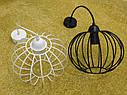 """Подвесной металлический светильник, современный стиль, loft, vintage, modern style """"ARC"""" Е27 черный цвет, фото 4"""