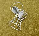 """Подвесной металлический светильник, современный стиль, loft, vintage, modern style """"SANDBOX-W"""" Е27  белый цвет, фото 4"""