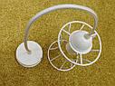 """Подвесной металлический светильник, современный стиль, loft, vintage, modern style """"SANDBOX-W"""" Е27  белый цвет, фото 5"""
