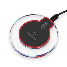 Беспроводная зарядка QI Fantasy для Iphone Samsung Андроид, фото 2