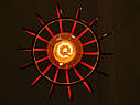 """Подвесной металлический светильник, современный стиль, loft, vintage, modern style """"KAPLIA-RM"""" Е27  красный, фото 3"""