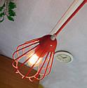"""Подвесной металлический светильник, современный стиль, loft, vintage, modern style """"KAPLIA-RM"""" Е27  красный, фото 4"""