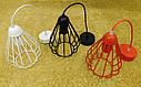 """Подвесной металлический светильник, современный стиль, loft, vintage, modern style """"KAPLIA-M"""" Е27  черный цвет, фото 7"""