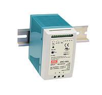Блок живлення Mean Well DRC-100B З функцією UPS на DIN-рейку 96.6 Вт, 27.6 В/2.25 А, 27.6 В/ 1.25 А (AC/DC Перетворювач)