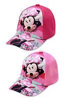 Кепки дитячі для дівчаток від Disney Minnie 52-54 cm