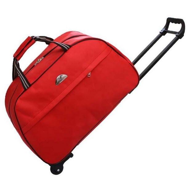 Дорожные сумки на колесах с принтами!