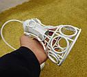 """Подвесной металлический светильник, современный стиль, loft, vintage, modern style """"RINGS-W"""" Е27  черный белый, фото 6"""