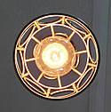 """Подвесной металлический светильник, современный стиль, loft, vintage, modern style """"RINGS-G"""" Е27 , цвет золото, фото 4"""