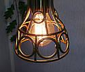 """Подвесной металлический светильник, современный стиль, loft, vintage, modern style """"RINGS-G"""" Е27 , цвет золото, фото 5"""