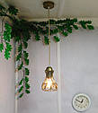 """Подвесной металлический светильник, современный стиль, loft, vintage, modern style """"RINGS-G"""" Е27 , цвет золото, фото 7"""