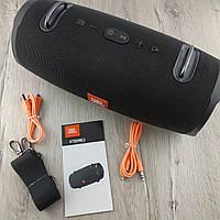 Портативная Bluetooth Колонка JBL Xtreme 2 black черная, беспроводная водонепроницаемая акустика джбл реплика