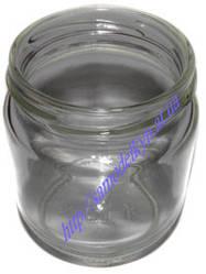 Стеклянная баночка стаканчик для йогуртницы без крышки