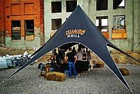 Тент Звезда Черный, 10 м - Брутальный шатер на 15-20 человек, фото 1