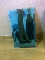 Фриз зеркальный зеленый, бронза, графит 60*60 фацет 15мм.товары для дома.купить плитку., фото 1