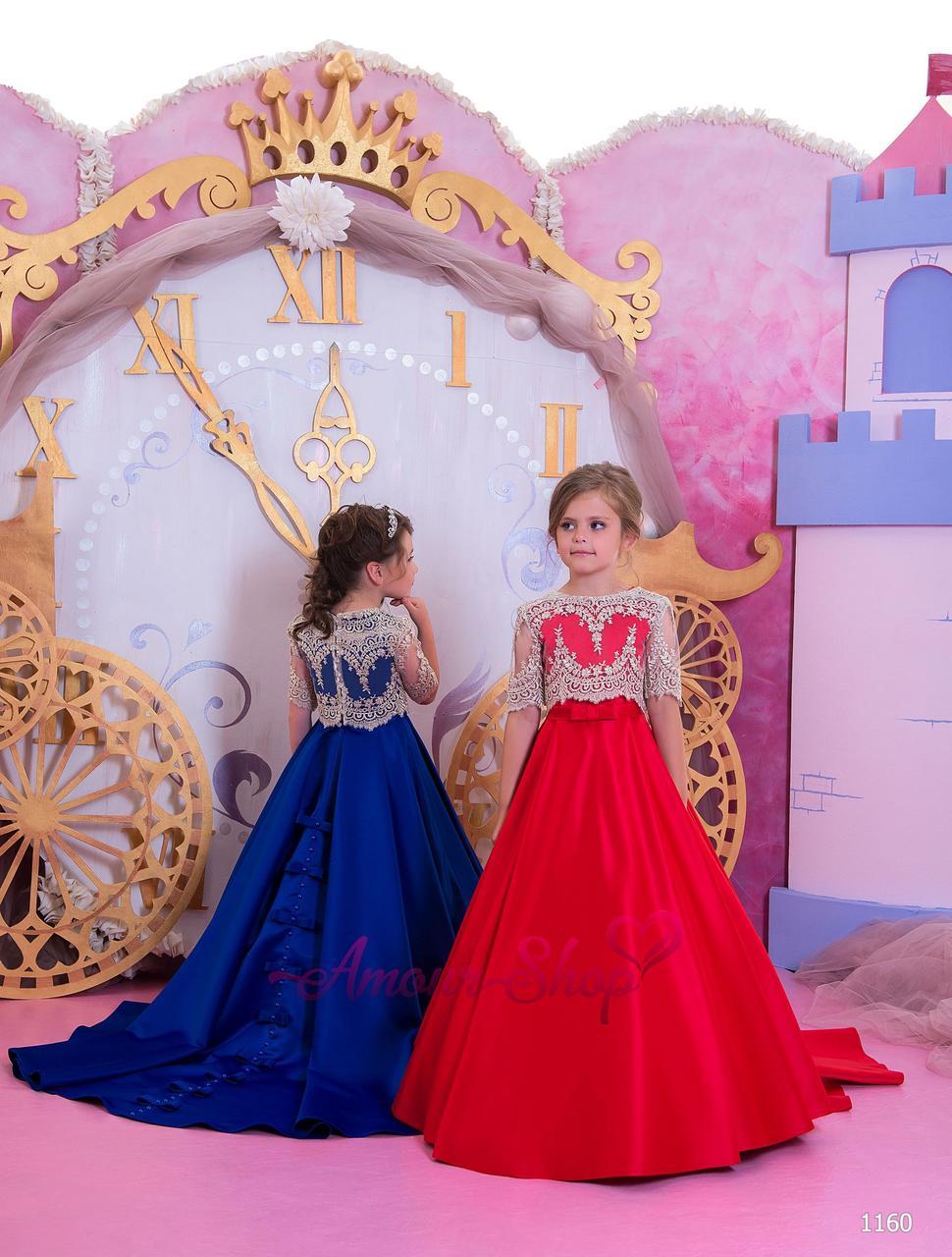 Дитяча випускне плаття на дівчинку 4,5,6,7,8,9,10,11 років (у садок, 4 клас), 1160