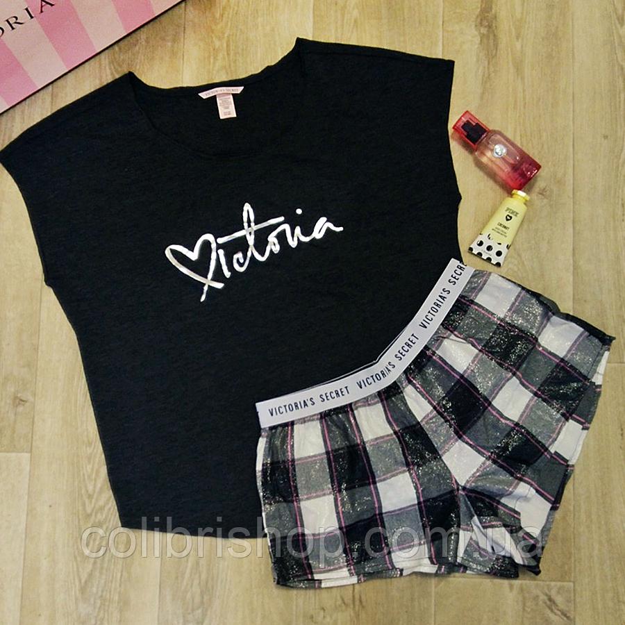 004499e296781 Пижама для сна футболка + велюровые шорты Victoria´s Secret оригинал ...