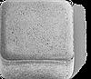 Тротуарная плитка Старый Город (серый) 4см
