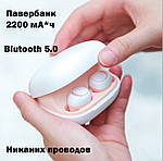 Наушники беспроводные  Wi-pods MOSUM Молодежные блютуз беспроводные наушники  Bluetooth 5.0. Премиум, фото 2