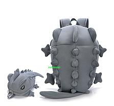 Большой оригинальный рюкзак ящерица/дракон Унисекс, фото 3