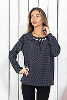 Модная женская шифоновая блузка,размеры 42-44, 46-48, 50-52, 54-56., фото 1