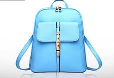 Стильный рюкзак сумка городского типа для школы, фото 3