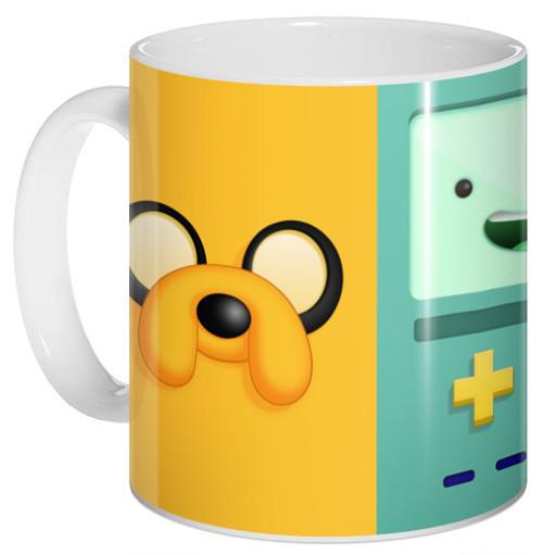 Кружка чашка Время приключений Джейк Финн БоМО Adventure Time