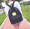 Тканевый рюкзак с радостным смайликом, фото 3