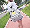 Тканевый рюкзак с радостным смайликом, фото 4