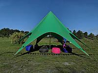 Палатка Звезда, 10 метровая, зелёная,  Доставка по Украине за 1 день, фото 1