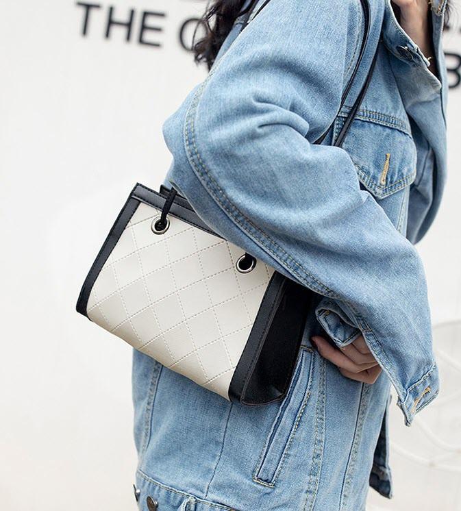 Стильная стеганая сумочка для модных девушек